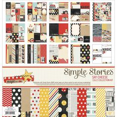 Simple Stories Say Cheese Collection KitSimple Stories Say Cheese Collection Kit,