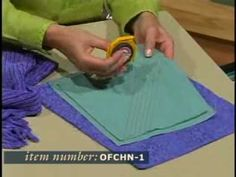 Learn how to create your own chenille with an easy and foolproof tool