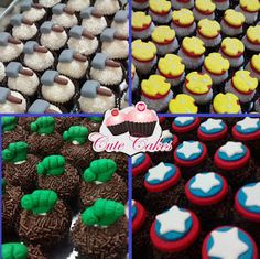 Alice Fashionando: Ideias incríveis para decorar sua festa do tema Vingadores Hulk Birthday Parties, Superhero Birthday Party, Birthday Cupcakes, Avenger Cupcakes, Avenger Cake, Marvel Cake, Monster Truck Birthday, Avengers Birthday, Party Ideas