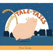 Churchhill's Tale of Tails by Anca Sandu book jacket