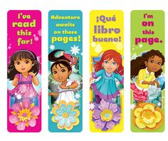Dora and Friends Bookmark | Treehouse