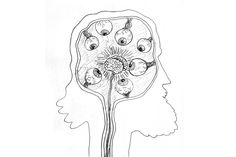 What Keaton Henson's brain looked like while he was making his new record, Kindly Now.