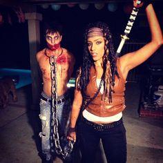 Michonne costume. The Walking Dead