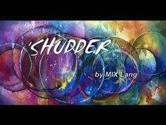 Fun Fast Easy Abstract Painting 'Shudder' How To Start to Finish - YouTube