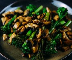 A great dish to eat your way to five-a-day, this delicious side combines mushroom and Tenderstem® in a delicious balsamic dressing. A great accompaniment to meat or fish, this side is ready in less than 20 minutes. Dried Mushrooms, Stuffed Mushrooms, Stuffed Peppers, Tenderstem Broccoli, Everyday Dishes, Broccoli Recipes, Casserole Dishes, Easy Dinner Recipes, A Food