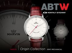 LAST CHANCE: Marvin Origin Gent Mechanical Watch Giveaway - Enter for your chance to win now - Just a few more days to enter for a chance to win your very own elegant dress watch with the Marvin Origin Gent Mechanical automatic watch. There are even two options to choose from. Enter now before July 2014 is over...