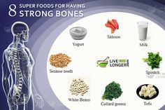 Top 8 Super Foods For Having Strong Bones   There are many articles revolving around the internet on why should you maintain good health all through your life? Indeed, is this question important in this hectic world, where there is a mad scramble to have breakfast? Lunch?  Dinner? Yes, your bones are the important structures of the body and in old age, you can suffer from various ailments related to the body.