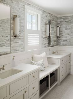 South Shore Decorating Blog: Our Master Bath Remodel: Preliminary Plans