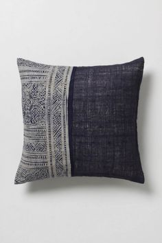 indigo tides pillow, $58