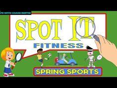 Physical Education Activities, Pe Class, Pe Games, Tabata Workouts, Brain Breaks, Grade 3, Workout Videos, Distance, Preschool