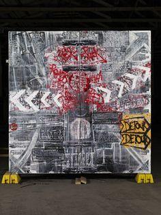 """Saatchi Online Artist Dean Jones; Collage, """"Punt Road"""" #art"""
