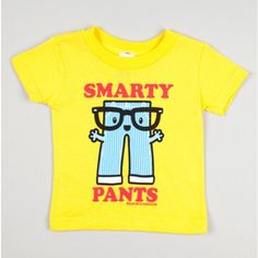 Smarty Pants Infant Tee.