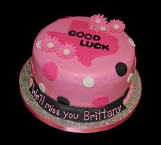 going away party cake - Google Search