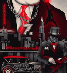 City Of Chicago Street Art, Behance, Studio, City, Movie Posters, How To Wear, Mad, Chicago, Illustrations