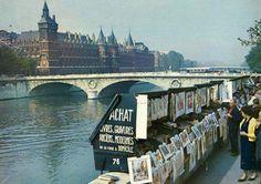 Les quais de Seine en 1950