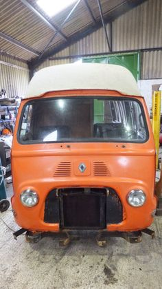 We are building our vintage van!!! Now being resprayed. One month before she is up and running :)