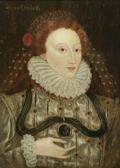 Bonhams : English School, 16th century Portrait of Queen Elizabeth I,