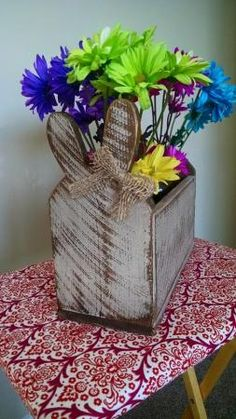 Shabby Chic Bunny Box | Do It Yourself Home Projects from Ana White