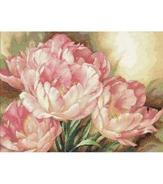 Dimensions Gold Collection Counted Cross Stitch Kit Tulip TrioDimensions Gold Collection Counted Cross Stitch Kit Tulip Trio,