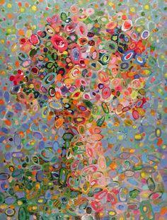 """Floral Abstraction Rosada"""