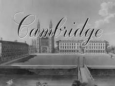Cambridge is a 1945 film about life in Cambridge University.  The film is available as part of the British Council Film collection.