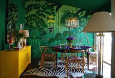 Colorful Laurel Canyon Residence (5)