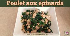 Poulet aux épinards 21 Day Fix, 21 Days, Beachbody, Chicken, Food, Boneless Chicken, Best Protein Sources, Keep Fit, Food Plan