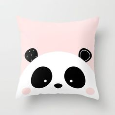 Panda Love Throw Pillow by Limitation Free. Worldwide shipping available at Society6.com. Just one of millions of high quality products available.