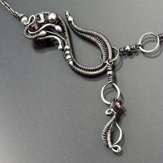 "Ella Necklace ""clasp"" | by Sarah-n-Dippity"