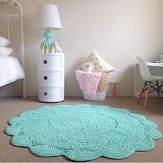 Such a beautiful crochet rug. And comes in some beautiful colours. To shop now hit the link in our profile  or search 'mint crochet rug'  on dtll.com.au  #dtll #downthatlittlelane