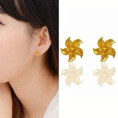 Kpop Leaf Earrings Jewelry For Girls Vintage Punk Gold Color Metal Small Stud Earrings Wholesale ear studs brincos. Yesterday's price: US $11.28 (9.78 EUR). Today's price: US $5.75 (4.98 EUR). Discount: 49%.