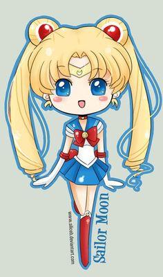 Chibi Sailor Moon sailor-moon