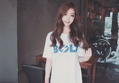 Beach-wear brand: BOLT. Song Ah Ri.