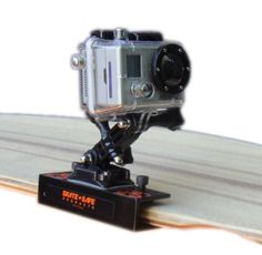 GoPro Camera Mount for a Skateboard or Longboard Easy to Install  Use NEW