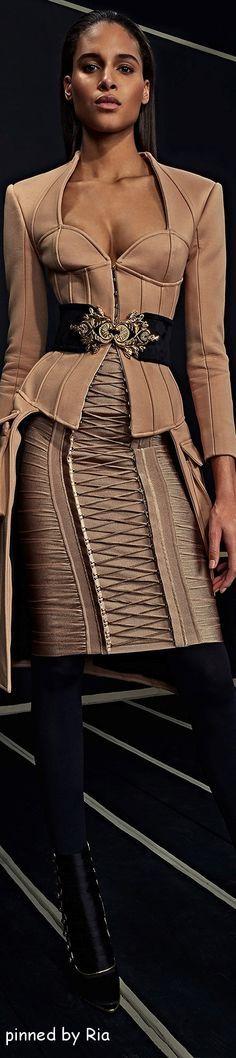 @roressclothes closet ideas women fashion outfit clothing style apparel BALMAIN PRE FALL 2O16