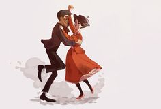 Step in Time by *rollingrabbit - Mary Poppins and Bert - Mary Poppins