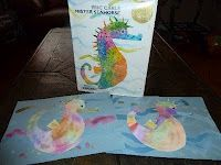 Watercolor Waterhorse