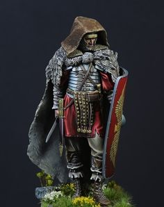 Rome on the Rhine by ronald Corné · Putty&Paint Imperial Units, Roman Armor, Pax Romana, Rome Antique, Roman Warriors, Roman Legion, Ancient History, Ancient Rome, Roman Soldiers