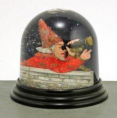 wizard snow globe