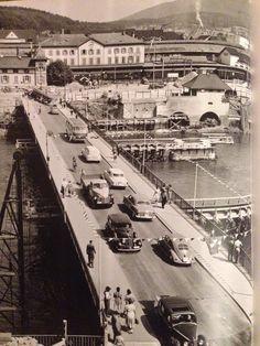 Olten - Bau der neuen Brücke Switzerland, Places, Lugares