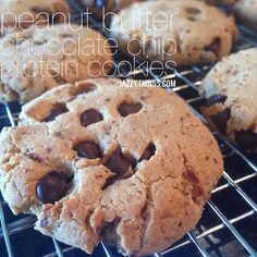 Peanut Butter Chip Cookies - Use egg replacer for egg for vegans