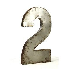 Metal Art Table Numbers Single Digit Free Usa Shipping Wedding And Florists