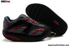 Latest Listing Women MBT M.Walk Shoes Red Cross Black Gray Fashion Shoes  Store