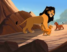 Well, technically, Kovu would be Prince Consort, wouldn't he? King Kovu and Queen Kiara Lion King Drawings, Lion King Fan Art, King Simba, King 3, Le Roi Lion, The Good Dinosaur, Disney Lion King, Anime Animals, Disney Animation
