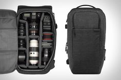 The key to a good camera backpack/case/etc is that it shouldn't look like a camera backpack/case/etc.