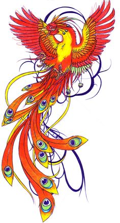 About the symbology and different meanings of Phoenix tattoos with images to get ideas for your next tattoo. Phoenix Artwork, Phoenix Drawing, Phoenix Images, Phoenix Wallpaper, Phoenix Design, Phoenix Tattoo Design, Phoenix Bird Meaning, Body Art Tattoos, Cool Tattoos