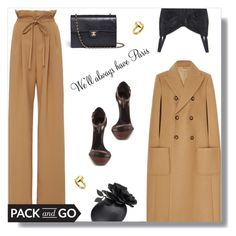 """""""Pack And Go: Paris Fashion Week"""" by peony-and-python ❤ liked on Polyvore featuring Rodarte, Dolce&Gabbana, Yves Saint Laurent, Chanel, Gurhan, paris, YSL, parisfashionweek and Packandgo"""
