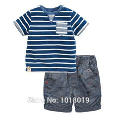 Special offer New 2017 Quality Brand 100% Cotton Baby Boys Clothing Sets 2pc Children Suit Kids Short Sleeve Clothes Set For Baby Boys Outwear just only $10.97 - 11.89 with free shipping worldwide  #boysclothing Plese click on picture to see our special price for you