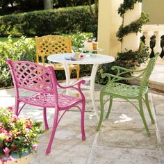Love this outdoor furniture from grandinroad.