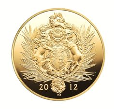 The Diamond Jubilee gold kilo.
